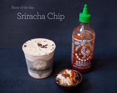 Sriracha Chip Ice Cream by MilkMade