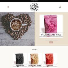 Dakota Coffee Roasters - Contact for your Logo and Website needs. Coffee Company, Coffee Roasting, New Tricks, Website, Logo, Shots, Drink, Logos, Beverage