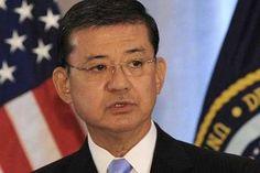 Department of Veterans Affairs Secretary Eric Shinseki...this shutdown is affecting everyone's lives, smh