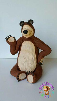 Sugar Art, Tigger, Disney Characters, Fictional Characters, Teddy Bear, Fondant, Animals, Pictures, Children Cake