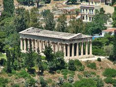 Temple of Hephaestus in Athens, Greece Parthenon, Acropolis, Midnight Summer Dream, Ancient Greek Theatre, Classical Architecture, Athens Greece, Travel Europe, Southeast Asia, Temples