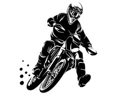 This item is unavailable Car Drawing Pencil, Bike Drawing, Bike Silhouette, Silhouette Studio, Silhouette Images, Logo Moto, Black And White Stickers, Bike Tattoos, Light Background Images