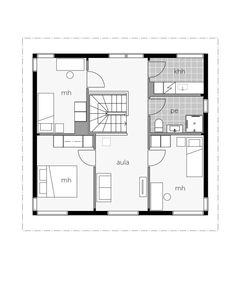 Glass House talo 143 / Kontio Glass House, Future House, Floor Plans, House Ideas, House Of Glass, Conservatory, Floor Plan Drawing, House Floor Plans