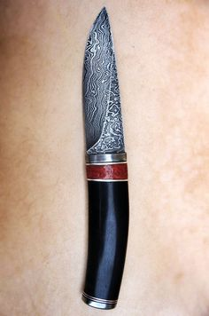 Japanese Knife with beautiful engraving - idea for ceramic relief work?