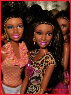 Στο κόκκινο Beautiful Black Babies, Beautiful Dolls, Beautiful People, Diva Dolls, Barbie Dolls, Barbie Happy Family, Made To Move Barbie, Black Baby Dolls, Black Barbie