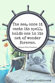 Beach Pillow Cover - Refresh Restyle, this quote is awesome