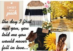 """fall love"" by jeje34 ❤ liked on Polyvore"