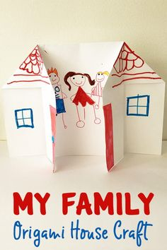 Learning About Families: Origami House Activity