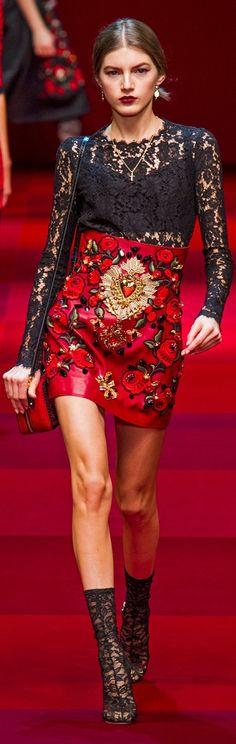 Dolce & Gabbana Spring 2015 ~ Milan
