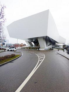 Porsche-Museum, Delugan & Meissl architects (exhibition co… | Flickr - Photo Sharing!