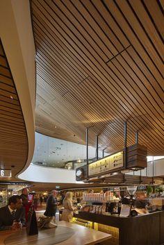 MLC Centre Food Court by Luchetti Krelle, Martin Place, Sydney, Australia
