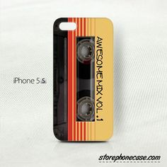 Awesome Mix Vol.1 iPhone 5 5S Cover Case