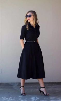 45 Best Casual Dresses for 40 Year Old Women - Casual Dresses - Ideas of Casual . - 45 Best Casual Dresses for 40 Year Old Women – Casual Dresses – Ideas of Casual Dresses - Image Fashion, Work Fashion, Modest Fashion, Fashion Dresses, Apostolic Fashion, Modest Clothing, Feminine Fashion, Women's Clothing, Office Fashion