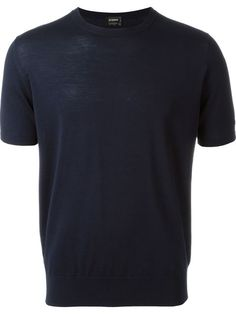 JIL SANDER Short-Sleeve Sweater. #jilsander #cloth #sweater