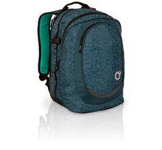 Trzykomorowy plecak młodzieżowy - uniwersalny zarówno dla chłopaka jak i dziewczyny. Baaaardzo pojemny!