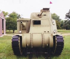 This Plywood WWII Tank Was Made by a Popular Mechanics Reader