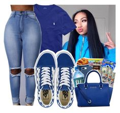 """Untitled #416"" by issacurleyhead ❤ liked on Polyvore featuring Ralph Lauren and Vans"