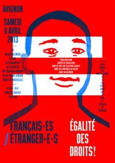 """Sébastien Marchal, """"Français/étrangers, égalité des droits !"""" - Version informative - 2013"""