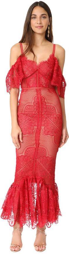 Marchesa Notte Off Shoulder Gown #bohemian styles
