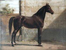 ANTIQUE PRINT - PRUSSIAN HORSE -  LARGE LITHOGRAPH 1e EDITION - OTTO EERELMAN