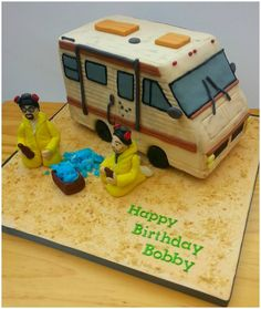 Epic Breaking Bad Birthday Cake is Huge Hit