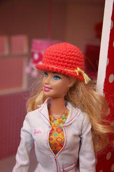 Ak at home : crochet * barbiemutsen
