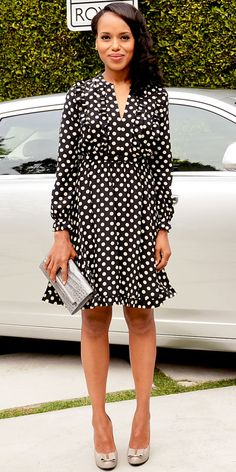 Kate Spade polka dot dress. Love!