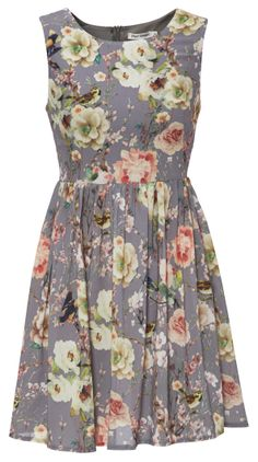 Dress from Tempt #floralgrunge @Westfield New Zealand