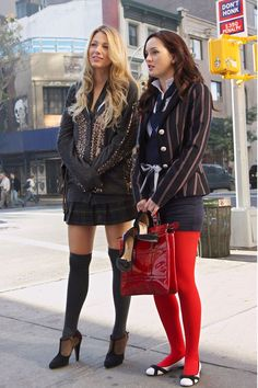 Blake Lively Serena van der Woodsen Gossip Girl Style Outfits | British Vogue
