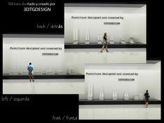 Exposición de mobiliario - Infografía.