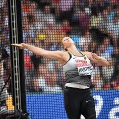 IAAF London 2017 - Julia Harting in Discus Throw