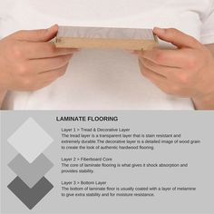 What is LAMINATE flooring made from? We explain.