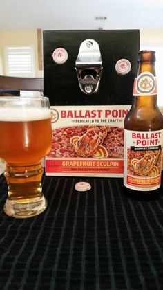 Check out this item in my Etsy shop https://www.etsy.com/listing/228087358/ballast-point-grapefruit-sculpin-wall