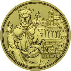100 Euro Gold Krone des heiligen römischen Reiches PP