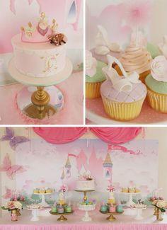 Pastel Princess Party with So Many Darling Ideas via Kara's Party Ideas | KarasPartyIdeas.com #Princess #Party #Ideas #Supplies