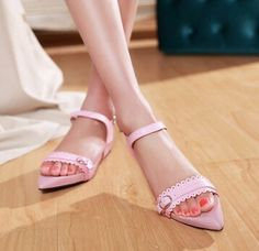 Women new fashion Summer sexy pointed toe open toe flat heels shoes buckle slippers soft outsole sandals