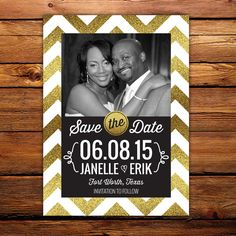 25 Save the Date Magnets customized with by LittleBeesGraphics, $37.00