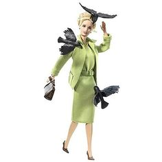 Alfred Hitchcock the birds barbie  Love this!