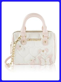 f84542efb30b Betsey Johnson Butterflies Stud Mini Crossbody Satchel Bag - Cream Multi - Top  handle bags ( Amazon Partner-Link)