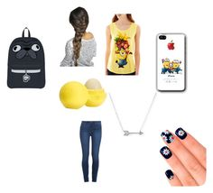 """""""The Anatomy Of bubblybrownie"""" by jdevine87509 on Polyvore featuring Hybrid Tees, Paige Denim, Adina Reyter, Eos and Elegant Touch"""