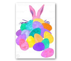 The Easter bunny offering of vintage and handmade pastels by elizabeth g shelton on Etsy