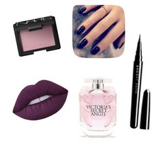 """Sin título #27"" by loveclo on Polyvore featuring Belleza, NARS Cosmetics, Lime Crime, Marc Jacobs, Victoria's Secret y Lottie"