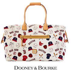 Boston Red Sox Dooney & Bourke Women's Duffle Bag - $480.00
