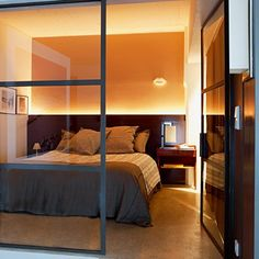 une grande chambre design comme une alcve - Deco Chambre Alcove