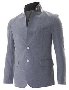 FLATSEVEN Mens Slim Fit 2 Button Stand Collar Single Breasted Linen blazer Jacket (BJ251) Blue, Boys L FLATSEVEN http://www.amazon.com/dp/B00NPWUZEG/ref=cm_sw_r_pi_dp_hhh1ub1SYEVDR