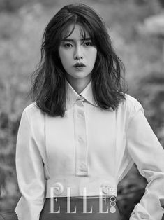 Im Ji Yeon - Elle Magazine September Issue Fashion Details, Fashion Design, Elle Magazine, White Fashion, Blouse Designs, Mantel, Blouses For Women, Korean Fashion, Ready To Wear