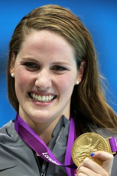 Missy Franklin. The new American sweetheart.