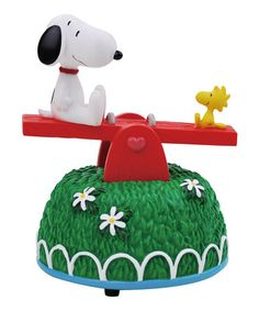 Take a look at this Snoopy & Woodstock Seesaw Figurine by Westland Giftware on #zulily today!