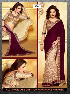 Online Shopping for 100- Classic Half-Half Saree | Half Sarees | Unique Indian Products by fashion fabrics - MFASH85776681120