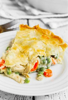 smalldiy: Mom's Fabulous Chicken Pot Pie with Biscuit Crust | Good ...